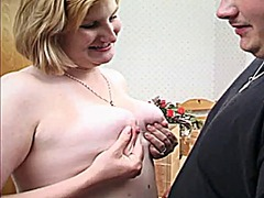 Thumb: Cute milky milf