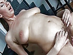Xhamster Movie:Pt2 hairy lesbians licking & t...