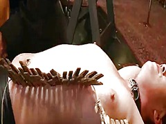 Yobt Movie:Gagged and bound up ginger slu...