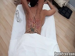 Raunchy and wild massage