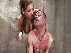 Yobt Movie:Sensuous nika noire humiliates...