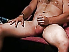 Straight guy playing with his cock