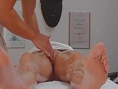 Czech hot babe spreads... video