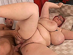 4 eyed big titted pawg nerd gets hairy cunt fucked