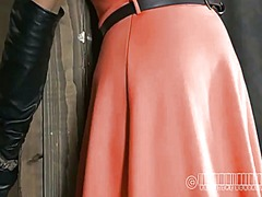 Ah-Me Movie:Zealous ass whipping for babe