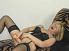 masturbation, stockings, euro