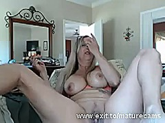 Me busty granny with a... video