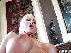 breasts, milf, blonde,