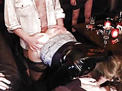 Slutwife gets gangbang... video