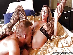 Pink Rod - Brandi love with giant knockers doing dirty things with hot fuck buddy bill bailey