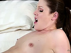 Samantha ryan tries her hardest to make lesbian chastity lynn happy