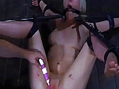 Wild torturing for sexy slave - 05:12