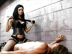 Jailer leah wilde whip... video