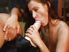WinPorn Movie:Three sultry lesbians use a fe...