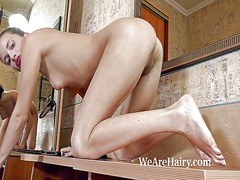 Hairy girl angelica l ... - Xhamster