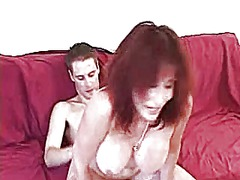 Redheaded mom with two... - Xhamster