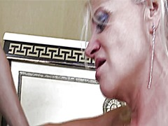 Blonde mature passiona... video