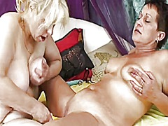 Xhamster - Another couple of saggy lesbian grannies