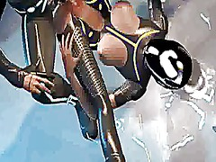 Sexy 3d catoon tron ba... preview