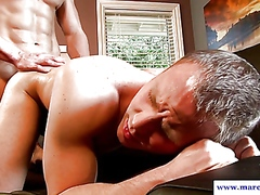 Straight guy drenching... video