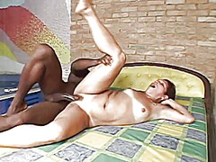 Mature braziliana gets...