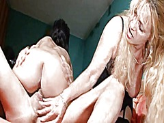 threesome, milf, mature,