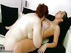 Redhead hetty loves da... video