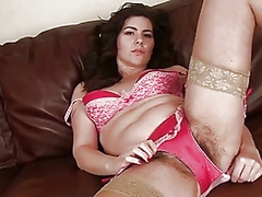 Vporn Movie:Amateur milf fingers her hairy...