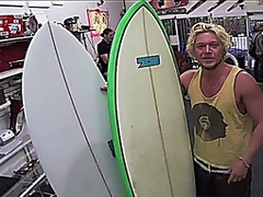 Surfer dude sells his ... video