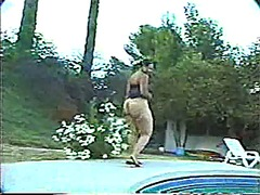 Poolside fun with big ... from Xhamster