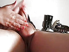 Soaked Lubed Up Tugjob