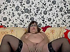 mature, bbw, boobs, big, granny