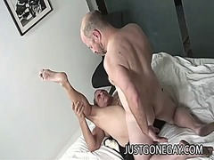 Gay grandpas having anal sex