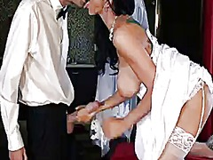 Danny d is pounding sexual bride romi rain