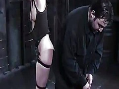 Horny carrie has slapped, bound up and gagged