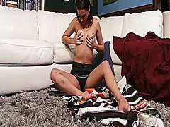 Brunette oriental geor... video