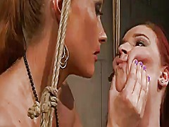 Mature kyra with gigantic boobs and katy parker make lesbian love