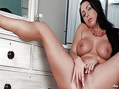 Thumb: Nina leigh with huge m...