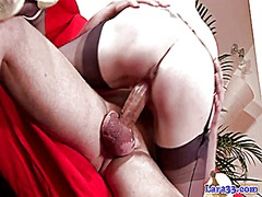 British mature in stoc... from Xhamster