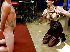 Sleaze female domination and pegging process by maitresse madeline