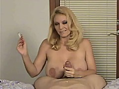 boobs, mature, big boobs, blonde,