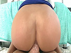 Sexy asian model anal fuck