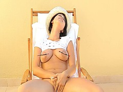 IcePorn - Busty beauty torturing...