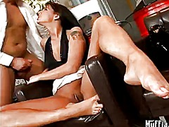 simony diamond,  brunette, piercing