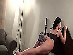 Choked under her sciss... video