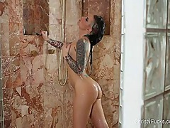 Thumb: Christy mack plays in ...