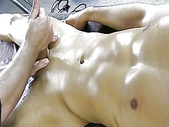 Vporn Movie:Gaystraight amateur jock has c...