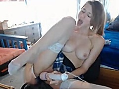 Curious Golden-Haired ... - Private Home Clips