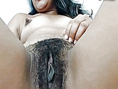 Dark nipples on hairy ... preview