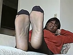 foot fetish, foot, mature, ebony,